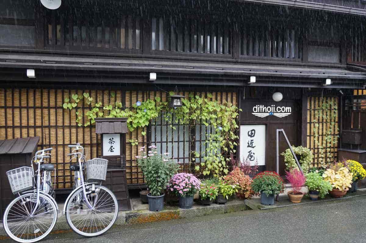 Làng cổ Shirakawago- Đi ngắm mùa thu vàng ở Nhật Bản