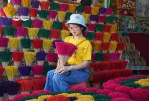 làng hương thủy xuân Huế