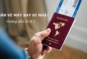 Săn vé máy bay đi Nhật