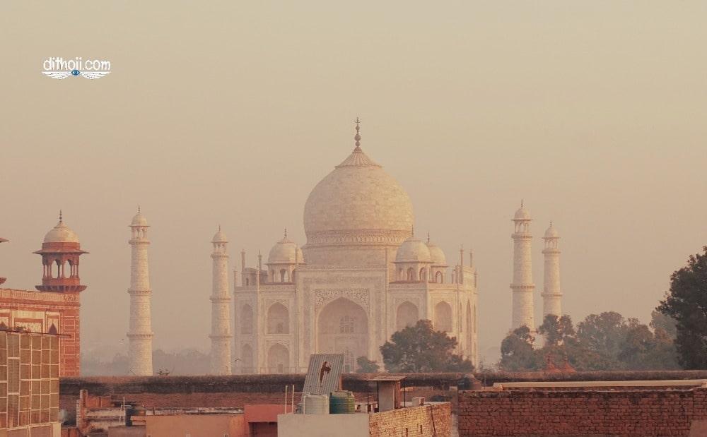 Taj Mahal- kì quan thế giới ở Agra